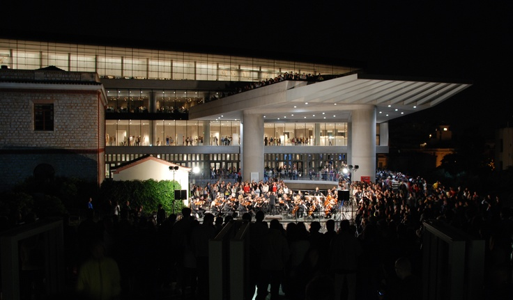 Acropolis Museum celebrates the European Night of Museums with the latest symphonies by W. A. Mozart and F. J. Haydn.