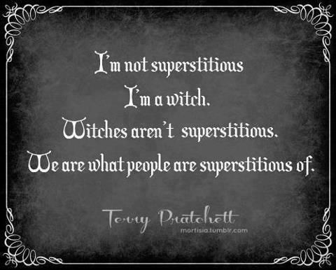 I'm a witch.....