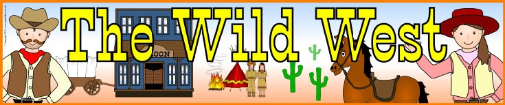 The Wild West display banners (SB9108) - SparkleBox