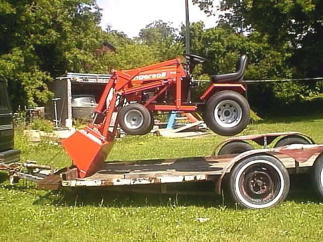 Lawn Tractor Loader : Best cub cadet images on pinterest tractors