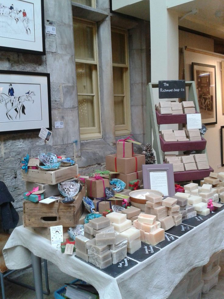 The Richmond Soap Co. The Station Christmas micro event December 2016.