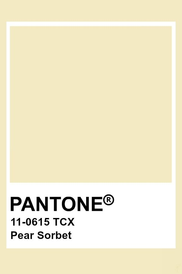 Pantone Pear Sorbet | Pantone Fashion & Home TCX Colors in