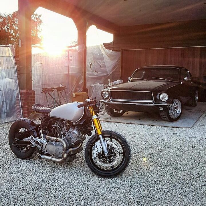 overboldmotorco:   by @louiskarsenbarg #yamaha #virago #vtwin #custom #bike…