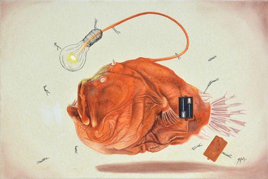 Ricardo Solis #art #illustration #mexico #nanquim #fridom