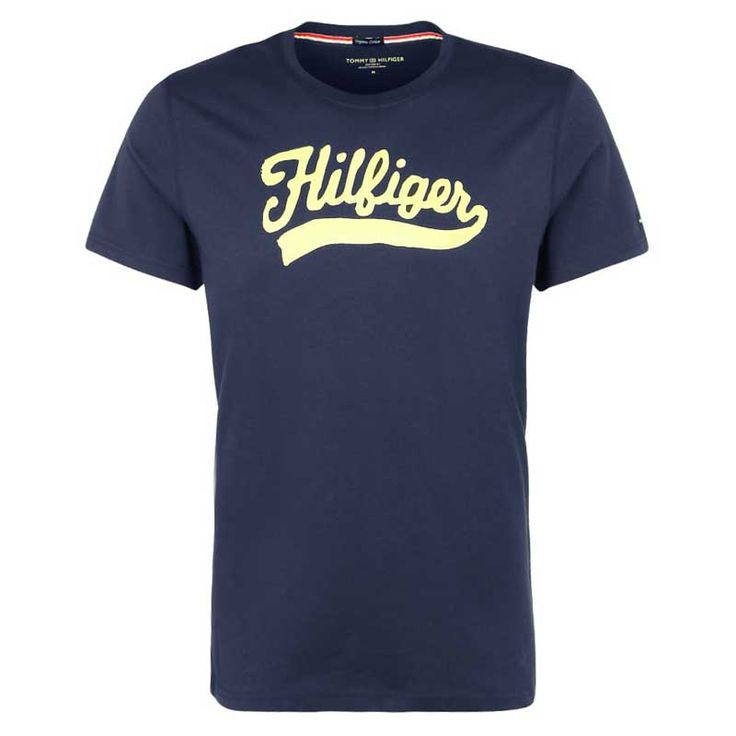 Tommy Hilfiger Organic Cotton Logo Shirt - Donkerblauw - New Arrival