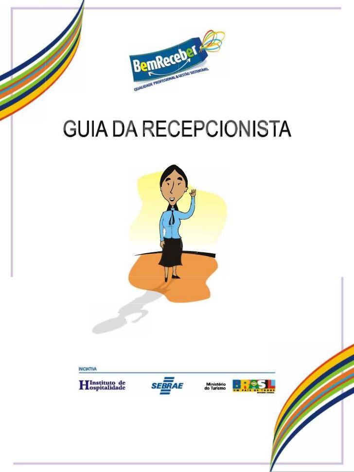 GUIA DA RECEPCIONISTA