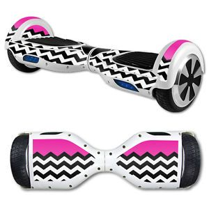 Skin Decal Wrap for Self Balancing Scooter Hoverboard Unicycle Hot Pink Chevron | eBay