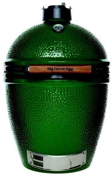 Grill - Big Green Egg, Large.   Idealisk för grillning/rökning eller stekning för 10 personer och uppåt  Du kan grilla ca 10 kg kött alternativt fem hela kycklingar.   http://www.kitchenlab.se/big-green-egg-large.html   #grill #grillar #grilla #biggreenegg