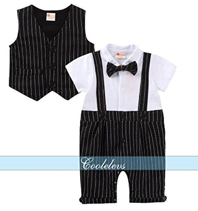Amazon.co.jp: 【ママセレクト】( 80cm )(ベストがセット)現役ママが選ぶ子供に着せたいちっちゃなフォーマルスーツ ブラック ストライプ お子様の特別な日に おしゃれ着に 冠婚葬祭 ベビー 結婚式: 服&ファッション小物