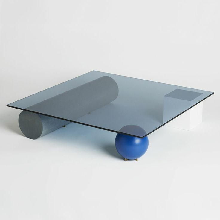 Element Table by Faye Toogood. I'm loving the neo-Memphisesque resurgence that's happening these days. Nice reaction to all the mid-cent overexposure of the last decade or so.
