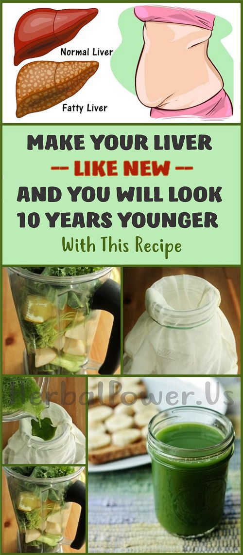 Make Your Liver Like New And You Will Look 10 Years Younger With This Recipe