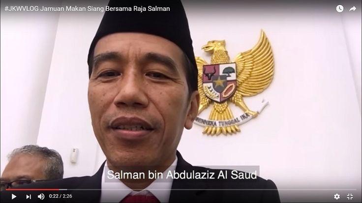 Jamuan Makan Siang Presiden Jokowi Bersama Raja Salman