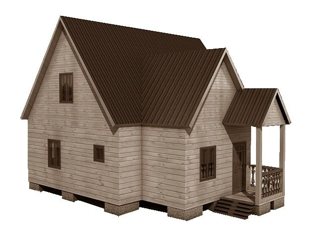 Готовый проект каркасного дома 9,5x8 от Строительной компании «ДОМ МЕЧТЫ»
