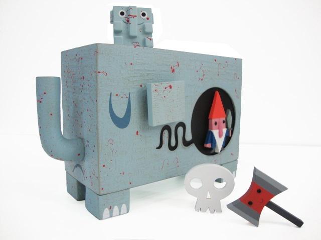 Urban vinyl designer toy by Amanda Visell