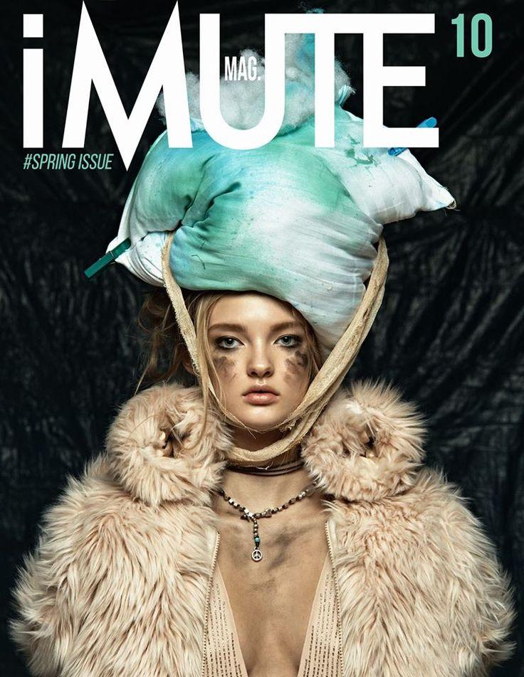 iMute Magazine #10 - Spring Issue Features Dari Avant Models shot by Dmitry Ryazanov and styled by Galya Maslennikova