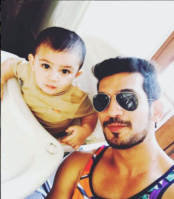 Naagins Arjun Bijlani shares cute video of son Ayaan learning how to play the guitar