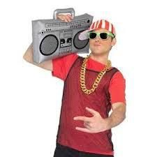 Let's Party With Balloons - Inflatable Ghetto Blaster, $14.00 (http://www.letspartywithballoons.com.au/inflatable-ghetto-blaster/)