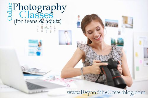 Online photography classes (for teens and adults) | www.beyondtheinspiration.com