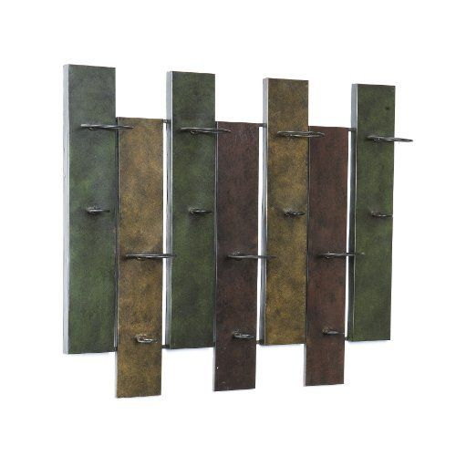 sei navarra wall mount wine rack by southern enterprises holds up to 7