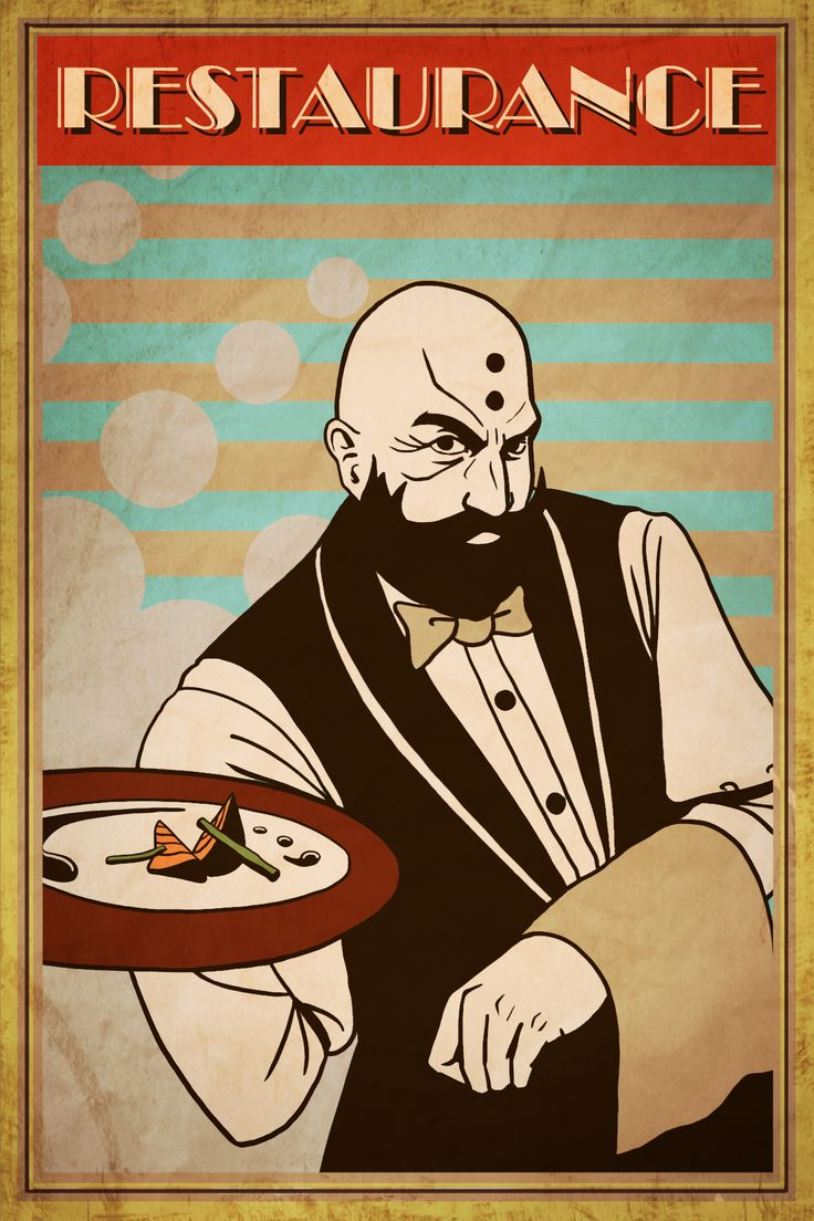 diablo3_waiter kharazim retro poster