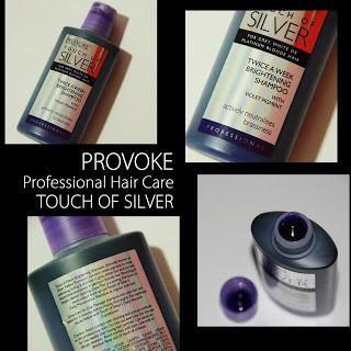 MichelaIsMyName: PROVOKE Professional Hair Care TOUCH OF SILVER REV...