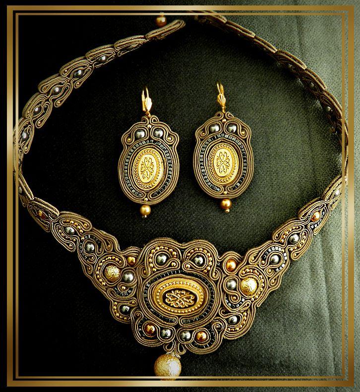 soutache+tutorials | soutache handmaid jewelry by ~caricatalia on deviantART