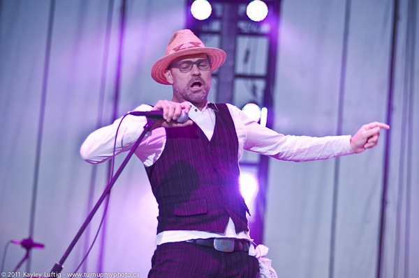 Gordon Downie, lead singer from the Tragically Hip, one of the most electrifying performers I've ever seen.