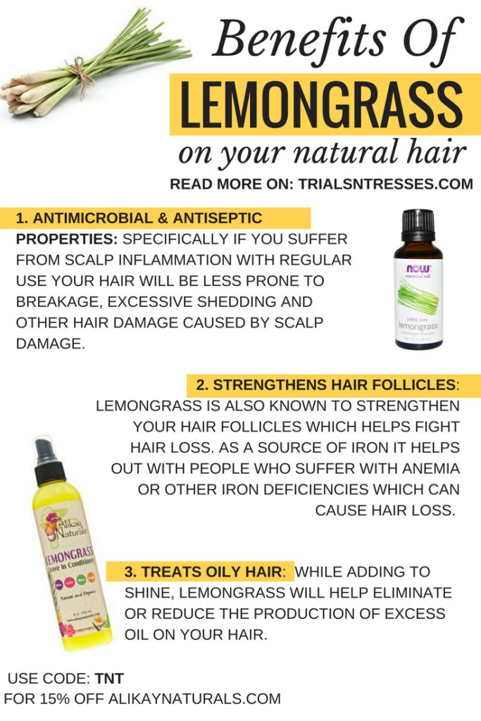 Benefits Of Lemongrass on your natural hair
