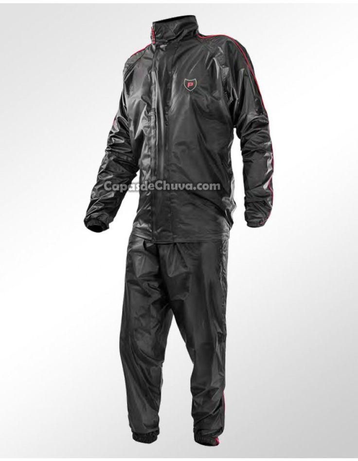 CAPA DE CHUVA CONJUNTO PROTECTOR MOTOS IMPERMEÁVEL STREET MASCULINO - CÓD: 40