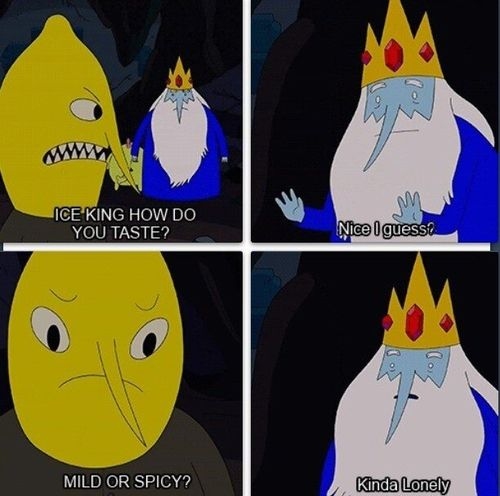 Adventure Time | Lemongrab and Ice King | Mild or Spicy