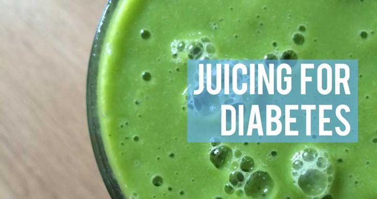 Juice cleanse: Juicing for Diabetes