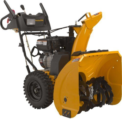 Poulan Pro PR291E30 30-Inch 291cc LCT Gas Powered Two Stage Snow Thrower With Electric Start by Poulan. $1099.00. Remote chute deflector. LCT 291cc OHV engine with electric start. Floodlight. Chain drive transmission. 16-Inch by 5-inch wheels. The PR291E30 2-stage snow thrower is equipped with standard speed drive and electric start engine; it is well-suited for homeowners who live in areas with moderate to heavy snow accumulation. Power steering and large, deep-tread tire...