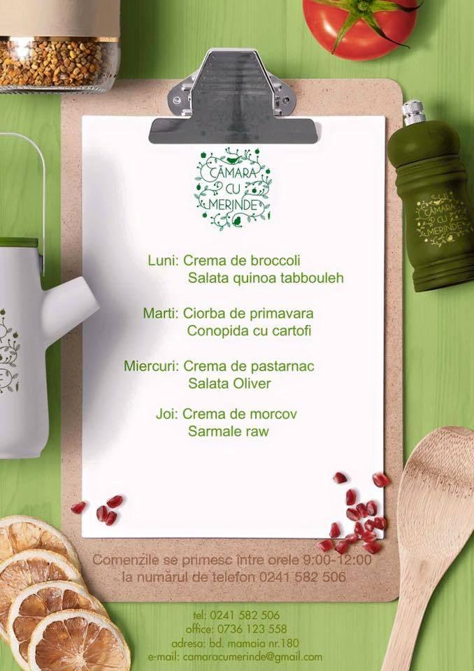 Ce mai gatim sanatos saptamana aceasta la Camara cu Merinde #takeaway #catering #delivery #vegetarian #rawvegan