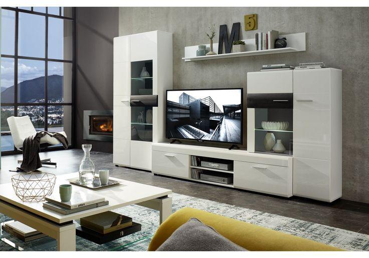 15 best ideas about wohnwand weiss on pinterest wei es bett tapeten ideen and nat rliche. Black Bedroom Furniture Sets. Home Design Ideas