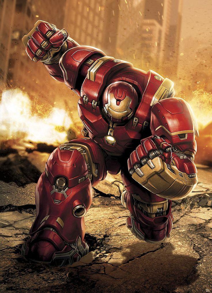 Eine massive Rüstung um den Hulk zu bekämpfen – Tony Stark als Iron Man in seinem mächtigen Hulkbuster-Anzug.   Artikeldetails:  Anzahl Teile: 4, Mit Kleister, Der Untergrund muss sauber, glatt und fettfrei sein.,  Material/Qualität:  Papier,  Wissenswertes:  Achtung: Rückgabe nur aus Qualitätsmängeln möglich,  ...