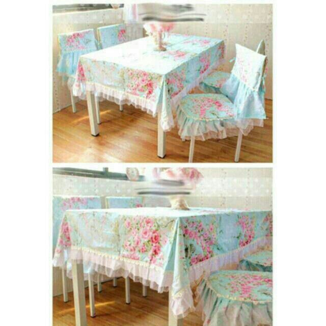 Saya menjual Set Cover Meja Makan Bunga Biru (table cloth) seharga Rp225.000. Dapatkan produk ini hanya di Shopee! http://shopee.co.id/purwaninghandayanisaifullah/1596978 #ShopeeID