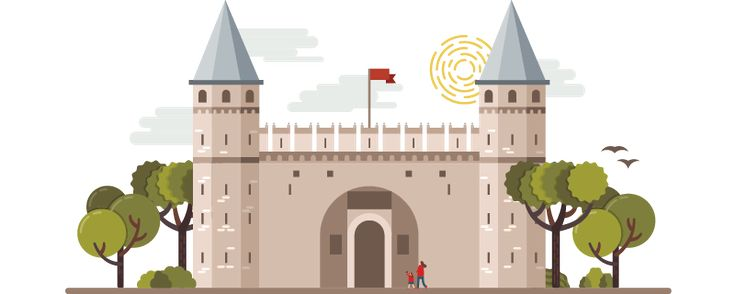 Landmarks of Istanbul on Behance