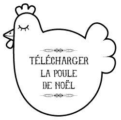 {13} Poule de noël | le blog à Myzotte