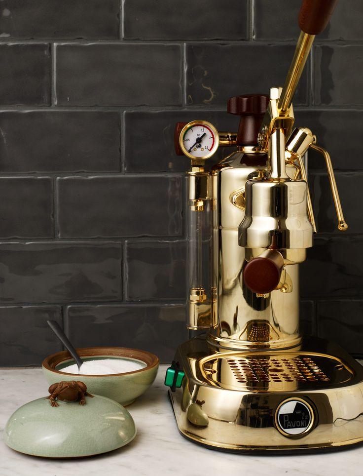 Perfect espresso machine from La Pavoni