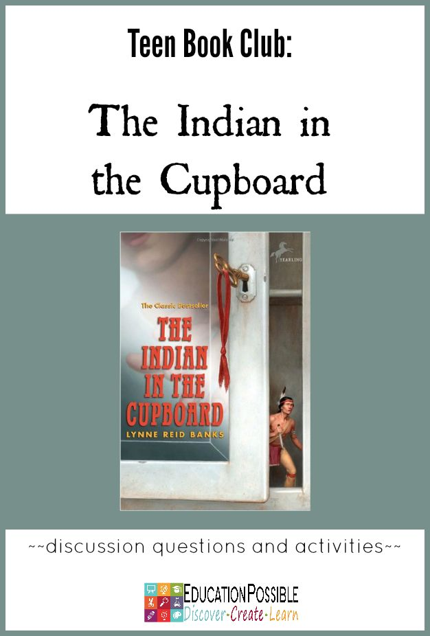 Teen Book Club Ideas: The Indian in the Cupboard @Education Possible