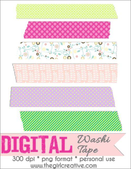 Free Digital Scrapbooking Embellishments