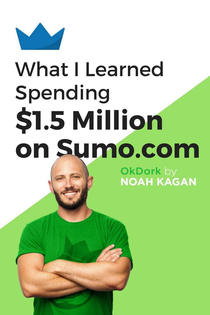 What I learned spending 1.5 million on Sumo.com