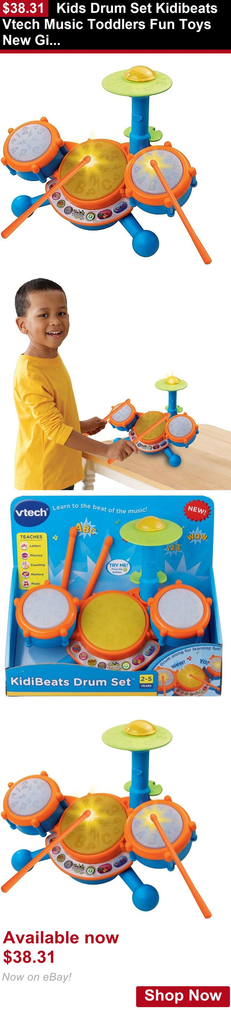 Developmental Baby Toys Kids Drum Set Kidibeats Vtech Music