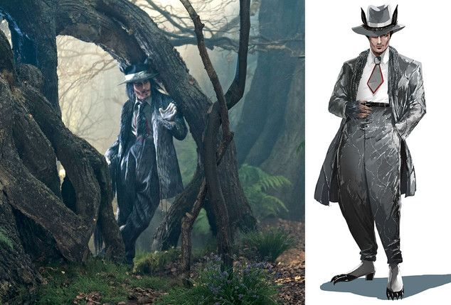 Johnny #Depp's Into the Woods Wolf Costume Explained by Colleen Atwood   Vanity Fair