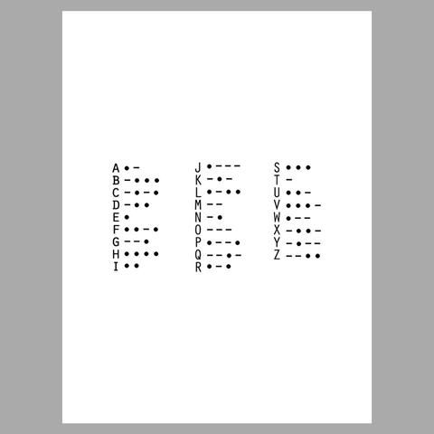 Best 25+ Morse code letters ideas on Pinterest Learn to write - sample morse code chart