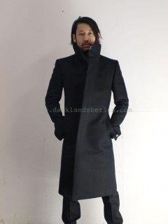 Carol Christian Poell Back raglan, high neck lined coat (WFACE)