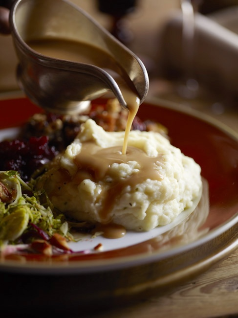 yummyinmytumbly    Mashed Potatoes and Gravy
