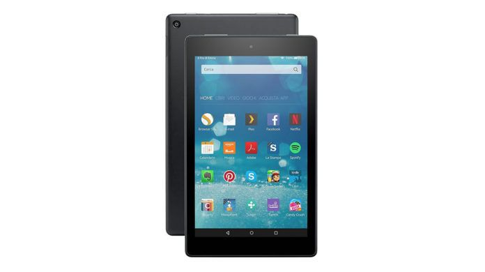 Amazon porta Alexa sui tablet Kindle da 80 dollari http://www.sapereweb.it/amazon-porta-alexa-sui-tablet-kindle-da-80-dollari/        Amazon Kindle Fire HD 8. Foto: Amazon C'è una novità nascosta all'interno degli ultimi tablet Kindle Fire HD 8 lanciati in questi giorni da Amazon: l'assistente vocale Alexa, che il gruppo di Jeff Bezos ha sviluppato inizialmente per il suo speaker da soggiorno Echo e che stranamente non...
