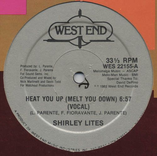 Shirley Lites – Heat You Up (Melt You Down)