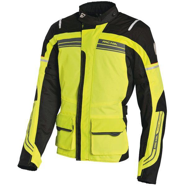 Richa Phantom Textile Jacket - Full Fluo